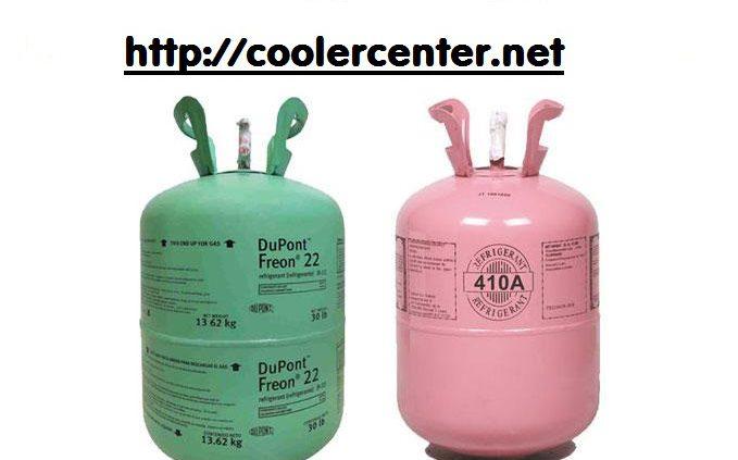گاز r410 بهتره یا r22 کولر گازی